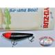 Artificial Banana Boat Yo-zuri de Cristal de la serie de 7.5 CM-8G Flotante color:BLRH - FC.AR15