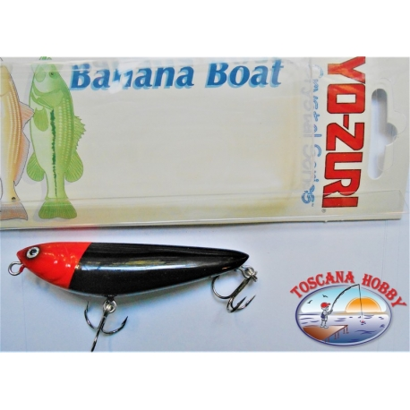 """Künstliche Banane """" Yo-zuri Crystal-serie 7,5 CM-8GR-Floating-farbe:BLRH - FC.AR15"""