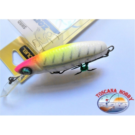 Artificial Zombie Minnow, Duelo, 7CM-6,5 GR Flotante color:PBN - FC.AR43