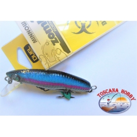 Artificiale Zombi Minnow, Duel, 7CM-5,5GR Floating colore:SBSH- FC.AR44