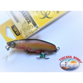 Artificiale Zombi Minnow, Duel, 7CM-5,5GR Floating colore:BDSH- FC.AR45