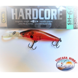 Artificial Hardcore SH-60SP, Duelo, 6CM-6,5 GR suspender color:GSBR - FC.AR46