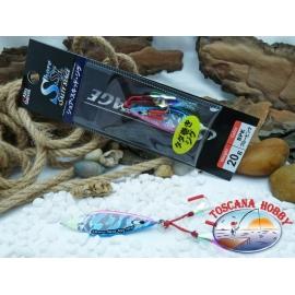 Metal Jig, Abu Garcia Shore Skid Salty Stage 20 gr. Color Bpk.FC.BR388