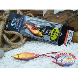 Metal Jig, Abu Garcia Shore Skid Salty Stage 20 gr. Color Aka.FC.BR389