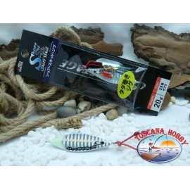 Metal Jig, Abu Garcia Shore Skid Salty Stage 20 gr. Colour ZEB.FC.BR392