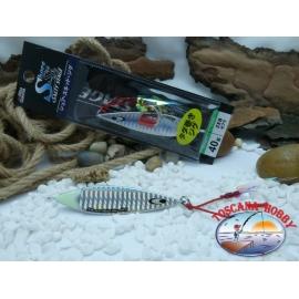 Metal Jig, Abu Garcia Shore Skid Salty Stage 40 gr. Colour ZEB.FC.BR405