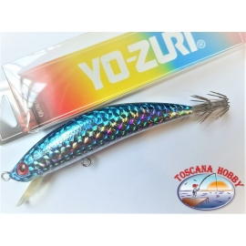Artificial MINNOW EGI, YO-ZURI, 11cm-18gr. Floating color C14.FC.AR71