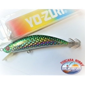 Artificial MINNOW EGI, YO-ZURI, 11cm-18gr. Floating color C133.FC.AR72
