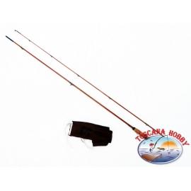 La caña de la Vendimia de Bambú Refendu para la Pesca con Mosca.FC.CA71