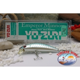 Artificial Emperor Minnow Glossy Pearl Sinking - 88 mm - 14 g.FC.BR429