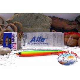 Artificiale DUEL Aile Saltwater System Jig in vertical - 120 mm 90 g. Col.CLO FC.BR436
