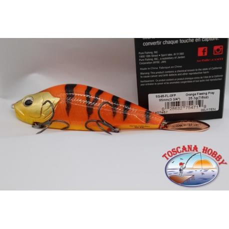 Artificiale LURES SEBILE, 9,5cm-23,3gr-7/8 oz, colore arancio.FC.AR102