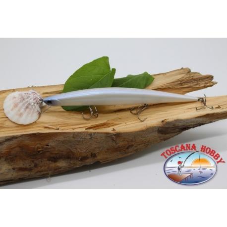 Pececillo Artificial de la VÍBORA de 17.5 cm-25gr. flotante, color: albino. FC.V1