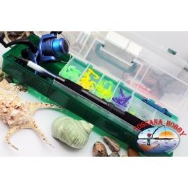 Combo de pêche polyvalent de la mer à l'eau douce. FC.S106