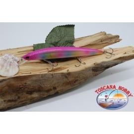 Pececillo Artificial de VÍBORA, 15cm-21gr. flotante, color: color del arco iris. FC.V19