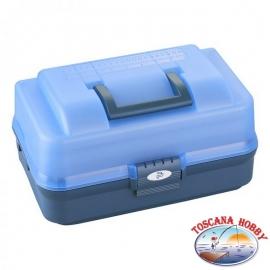 Koffer fischen angeln polypropylen 370x222x H 197 mm, Kunststoff Panaro FC.S87