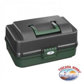 Koffer fischen angeln polypropylen 370x222x H 197 mm, Kunststoff Panaro FC.S88