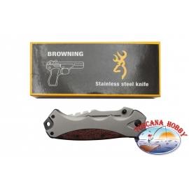Coltello automatico Browning in acciaio G10.FC.W02