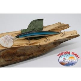 Pececillo Artificial de VÍBORA, 15cm-21gr.flotante,color: azul con negro.FC.V25