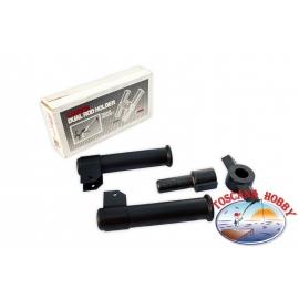 Koffer fischen angeln polypropylen 420x303x H 400 mm, Kunststoff Panaro FC.S86