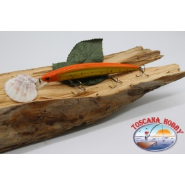 Pececillo Artificial de VÍBORA, 15cm-21gr. flotante,color: naranja y oro. FC.V26