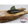 Artificiale Minnow VIPER stile Rapala,15cm-27gr. colore:olografico e nero.FC.V52