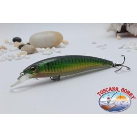 Minnow Viper tipo Rapala 10 cm-14gr Flotante col. verde.AR.401