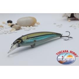 Minnow Viper typ Rapala 10 cm-14gr Floating col. gold light blue.AR.409