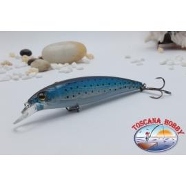 Minnow Viper tipo Rapala 10 cm-14gr Flotante col. azul negro.AR.412