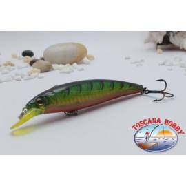 Minnow Viper type Rapala 10 cm-14gr Floating col. orange green.AR.427