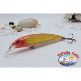 Minnow Viper tipo Rapala 10 cm-14gr Flotante col. amarillo anaranjado.AR.435