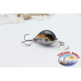 Viper Micro Minow 2,5 cm-2,67 gr Sinking col. brown.AR.512
