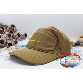 Ridgemonkey Hat, 5 panel Cap brown.TL15