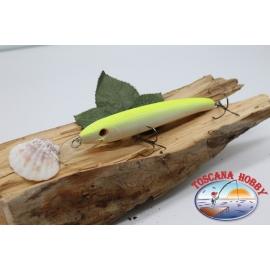 Pececillo Artificial Viper estilo de Rapala, 15cm-27gr. col. blanco/amarillo. FC.V58
