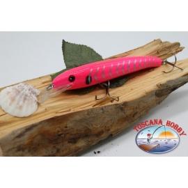 Artificiale Minnow Viper stile Rapala, 15cm-27gr. col. pink. FC.V68