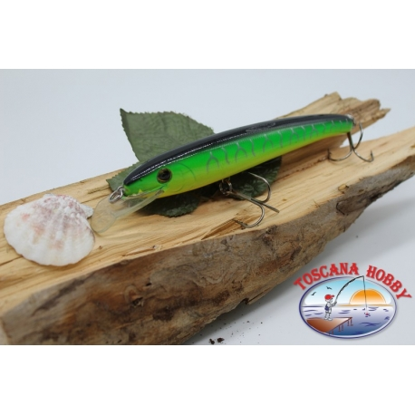 Pececillo Artificial Viper estilo de Rapala, 15cm-27gr. col. jamaica. FC.V70