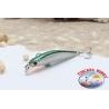 Artificial Minnow VIPER 6.5 cm - 4,75 gr. Floating, col: green & silver.AR.653