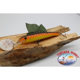 Pececillo Artificial Viper estilo de Rapala, 15cm-27gr. col. naranja/amarillo. FC.V71