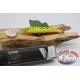 Artificiale Minnow Viper stile Rapala, 15cm-27gr. col. giallo/rosa. FC.V73