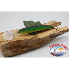 Artificielles-De-Vipère style Rapala, 15cm-27gr. col. la grenouille taureau. FC.V74