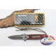 Knife, Browning stainless steel and wood handle W20