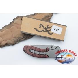 Messer, jagd Browning aus rostfreiem stahl der griff aus holz W22