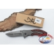 Hunting knife Browning stainless steel wood handle W22