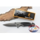 Hunting knife Browning in steel, handle in fiber glass W23