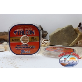 Fishing wire for the terminal Fluorine Coating Falcon - 100 mt. F. 52