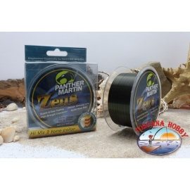 Fishing line to reel the PANTHER MARTIN Zeus 300 mt. Green/Black F. 57