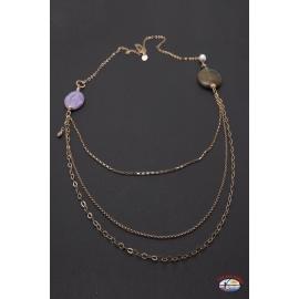 Halskette silber 925 Heilig-Geist-Schmuck karneol und amethyst