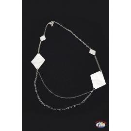 Collar de plata 925 Espíritu Santo de la Joyería del diamante en relieve