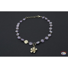 Halskette silber 925 Heilig-Geist-Schmuck mit amethyst