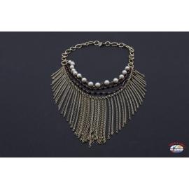 Collar de plata 925 Espíritu Santo de la Joyería de perlas de río